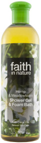 Faith in Nature - Hampa Dushgel/Skumbad 400 ml