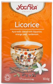 Yogi Tea – Licorice Te