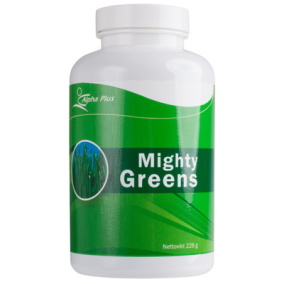 Mighty Greens 228g - Alpha Plus