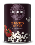 Baked beans i tomatsås 400g EKO