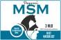 Pegamo's MSM – 3 kilo (refillpåse)