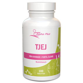 Alpha Plus TJEJ 100 tab – Multivitamin/-mineral