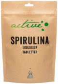 Spirulina - Ekologiska tabletter 250 st - Holistic