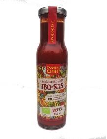 BBQ-sås Ekspånsrökt chili – Ekologisk Skånsk Chili