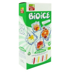 Ekologisk Isglass (10 st) Multifruit Bio Ice