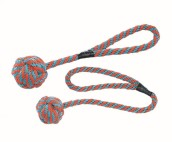 Hundleksak - Flytande boll/rep i nylon