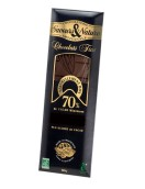 Mörk choklad 70%, Hallon – EKO 100g