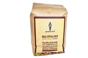 Multipulver (nypon, nässla, blåbär) – pH-Balans