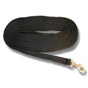 Longerlina cushion web 8 m Svart