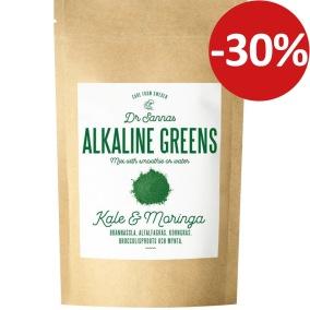 Dr Sannas Alkaline Greens 125g
