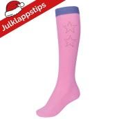 Ridstrumpa Glitter Rosa HS Junior