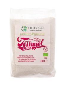 Teffmjöl Ljust 400g - Biofood