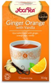 Yogi Tea – Ginger Orange with Vanilla