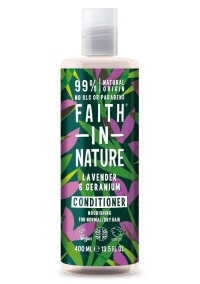 Lavendel & Geranium Balsam 400ml - Faith in Nature