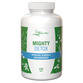 Alpha Plus Mighty Detox 170g Vegan