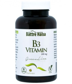 B3 Vitamin 100mg Green Line 90k