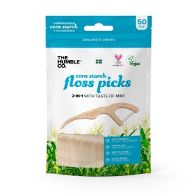 Tandtrådsbyglar Dental Floss Picks 50p