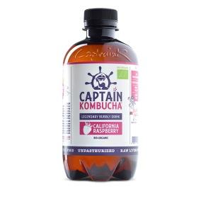 Captain Kombucha California Raspberry 400 ml EKO