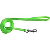 Hundkoppel Puppie nylon Neongrön