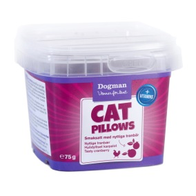 Kattgodis - Cat Pillows Kyckling/tranbär