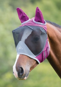 Flughuva - Shire Deluxe Fly Mask With Ears
