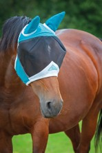 Flughuva Ponny - Shire Fine Mesh Fly Mask with Ears