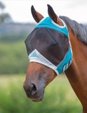 Flughuva Shire Fine Mesh Fly Mask With Ear Hole