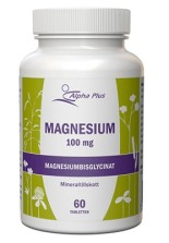 Alpha Plus Magnesium 100 mg 60 tab