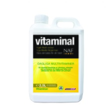 NAF Vitaminal 2,5L – Multivitaminer utan tillsatt sock