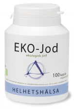 EKO-Jod 100 kapslar Helhetshälsa