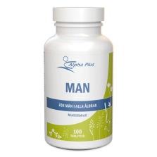 Alpha Plus Man 100 tab – Multivitamin/-mineral