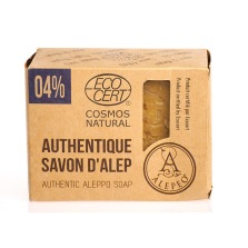 Aleppo tvål 4% Lagerbärsolja 200g EKO