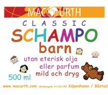 Schampo barn 500 ml