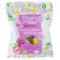Veggie Peggy Frukthjärtan 90g EKO