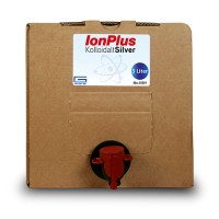 10 liter – IonPlus (2x5L) Bag-in-Box - Kolloidalt Silver