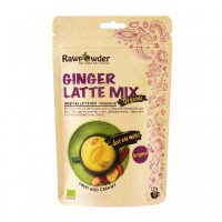 Rawpowder Ginger Latte Mix Ingefära 125g EKO