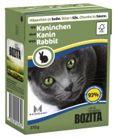 Bozita - Bitar i Sås med Kanin 370g