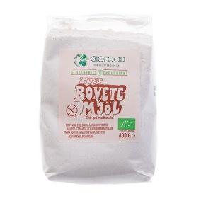 Bovetemjöl ljust 400g EKO - Biofood