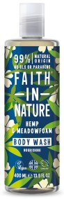 Duschgel Hampa & Meadowfoam 400 ml - Faith in Nature