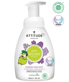 Attitude Little Leaves Skumtvål, Vanilla & Pear 295ml