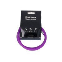 LED-ring silicon - Blinkhalsband Lila