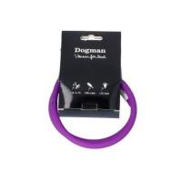 LED-ring silicon - Blinkhalsband Lila