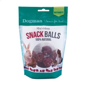 Snack Balls till kanin, hamster, marsvin
