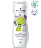 Attitude Little Leaves 2i1 Schampo & Duschkräm Vanilla & Pear 473ml