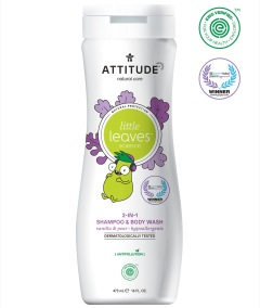 Attitude Little Leaves 2i1 Schampo & Duschkräm Vanilla & Pear 473ml
