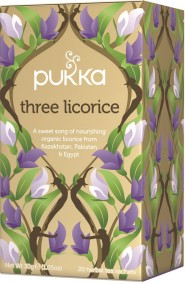 Pukka te - Three Licorice