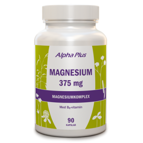 Magnesium 375 mg 90 kap - Alpha Plus