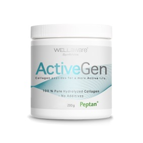 WellAware ActiveGen Collagen (typ 2) – 100% hydrolyserat kollagen