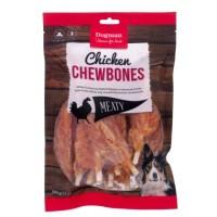 Chicken Chewbones 12st hundtugg - Dogman