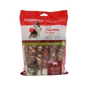 Chew Rolls Anka 10-pack tuggrullar - Dogman